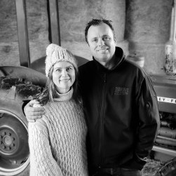 Rick and Liz barn